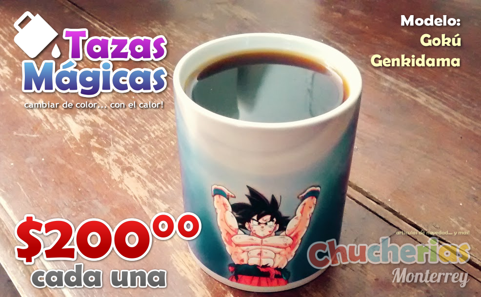 Publicidad Taza Goku