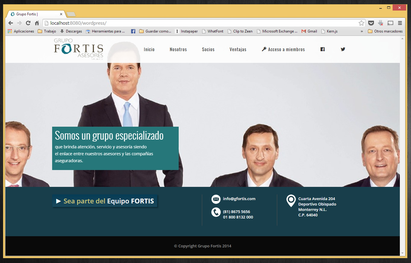 Grupo Fortis Asosiados: Inicio